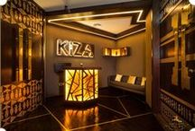 Kiza, Dubai - Designed by #TheFirstFerry / Interior design project, conceptualized and executed by The First Ferry for Kiza - an african inspired restaurant/ cafe/ lounge/ bar/ club.