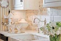 Classic white kitchens