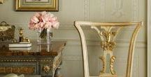 Traditional style / Collection of traditional style home interiors