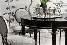 Black & White home decor