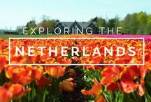 Exploring The Netherlands / The Netherlands Travel Inspiration. Amsterdam. Delft. Gouda. Flushing. Kampen. Tulips. Canals. Rijksmuseum. Anne Frank House. Van Gogh Museum.