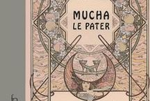 Alphonse Mucha - Le Pater (1899) / Pages from the book Alphonse Mucha - Le Pater (1899)