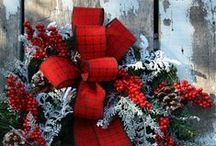 deck the halls / Christmas ideas, holiday decorations, festive food and drinks...