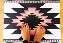 Yoga Mats / Our beautiful collection of La Vie Boheme Yoga mats!