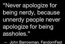 Proudly nerd