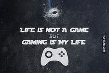 My Inner Gamer / I am a gamer. Not because I don't have a life, but because I choose to have many.