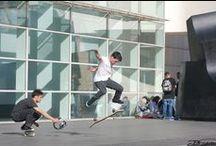 Skaters Barcelona 2015 / Recopilación de Fotos de Skaters en Plaza uiniversidad y MACBA en Barcelona