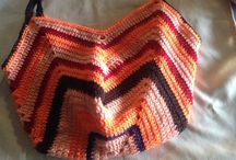 Handmade crochet items / Handmade inspired by colours of sun and nature