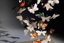 Paper Art Papercuts - Scherenschnitte Papier Kunst - Papiers découpés / Papercuts, Scherenschnitte, Silhouettes, Paper Art, Papier-Kunst, Pergamano
