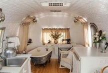 Airstream ideas for Janice... / by Pam Porter