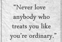 Truer Words... / Everyone loves a good quote.