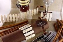 Accessoires deco champêtre / Pour un mariage nature, campagne ou champêtre, découvrez toutes nos idées pour inspirer votre décoration de table !