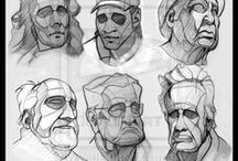 Drawing - Faces