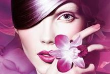 Sephora + Pantone Universe 2014 / Sephora teamed up with Pantone for a capsule collection from nail polish to lipstick, eyeshadow to blush all in different shades of Radiant Orchid - Color of the Year 2014. Available from March.