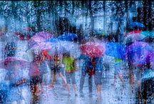 Umbrella / Deszcz, parasolka,