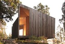 Ideal dwellings / Inspiration for my Waiheke site/not in order