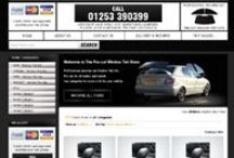 Joomla website design for Clothing & Automotive sellers!!