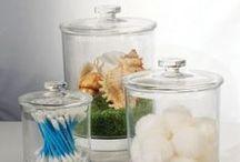 Plastic Apothecary Jars