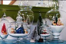 Christmas Ideas Apothecary Jars / Apothecary Jars Christmas Ideas