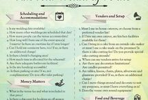 Wedding Tips / If you're planning a wedding, these are important to read!