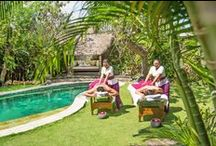 Spa Venus at Villa Kubu - Seminyak Bali / A preview of experience Indonesia's rich heritage of natural healing & beauty rituals with a nurturing spa treatment designed to energise the body, soothe the mind and balance the spirit at Spa Venus