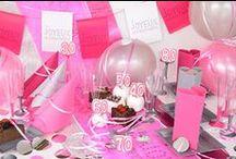 Déco Anniversaire Fille / Pour bien préparer la décoration anniversaire au féminin, voici quelques articles à ne pas manquer.