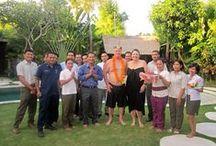 Celebration at Villa Kubu & LataLiana Villas / Guests celebration at Villa Kubu and our sister property, LataLiana Villas. www.villakubu.com/details/kubu-concierge