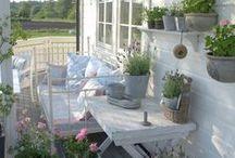 White Balcony