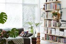 LIBRARY & BOOKSHELF