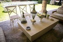 Beautiful afternoon / Hello! We have to share with you this beautiful afternoon, gorgeous set up and celebration. Enjoy!