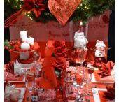 Déco de Noel en tricot rouge