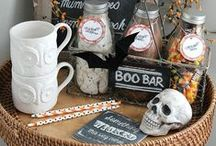 HALLOWEEN PROJECTS and IDEAS / Creative and spooky ideas for Halloween decorating.