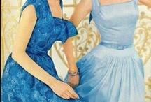 FASHION - Blue Dress