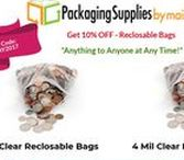 Reclosable Bags / Versatile, long lasting, and very resourceful like shipping/mailing envelopes, 2mil and 4mil Bulk Reclosable Bags in Wholesale are useful for a number of storage, organizational and packaging reasons available at https://www.packagingsuppliesbymail.com/reclosable-bags