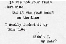 Music lyrics <3