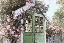 ♥ outsides ♥ (yard, fence, garden, terrace, balkony...)