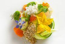 Food présentation and inspiration