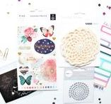 Bits & Pieces Kits (BPK) / The Bits & Pieces Kit is known as the BPK which is the monthly embellishment kit. This kit is full of loads of embellishments and exclusive products. All of The Scrappery kits are designed monthly to coordinate with each other so that you have a wide variety of product that works perfectly together.
