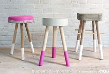 House diy & upcycled furnitures