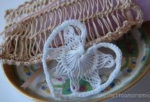 Crochet: broomstick and hairpin lace