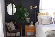 BEDROOMS / A collection of cozy and stylish bedrooms.
