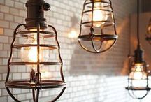 LIGHTING / A collection of pretty lights and DIY lighting ideas.
