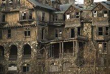 Mansiones abandonadas / Aquí muestro el lado más espeluznante de mi cuenta. Que lo disfruten.