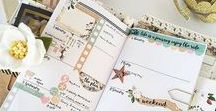 krodesigns ~ Annie Plans Printables / All things Annie Plans Printables Weekly planning in my Annie Plans Printables Standard SizeSTANDARD Size: MONDAY Start Month/Weekly/Daily GRID Travelers Notebook Insert Week on Two Pages horizontal, WO2P horizontal #annieplansprintables #annieplansprintablesstandard #TEAMannieplansprintables