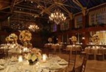 Winter Garden at Fox Hollow / The Winter Garden room at the FoxHollow is one of Long Island's most unique wedding ballrooms featuring an atrium glass ceiling and stone fireplace.