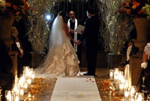 Indoor Ceremonies / The Fox Hollow in Woodbury, Long Island accommodated both indoor & outdoor wedding ceremonies / by Fox Hollow