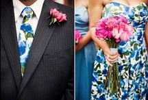 Prints!  / Prints are a HOT wedding trend!  Whether it be for your engagement party, rehearsal dinner, bachelorette party or wedding.  Check out these ideas