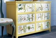 DIY Recycle & Upcycle / Trash to Treasure: recycled, repurposed, restored, redecorated furniture & household items / by Wendy T