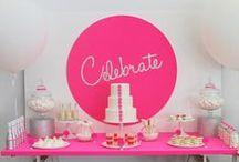 """""""Fiestas"""" / Todo para cumpleaños, baby shower, bautismos, casamientos, party y todo tipo de festejos :)  / by Anyi Leyes"""