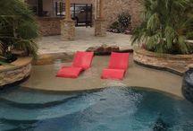 Pools & Back Yard Ideas / by Karen Meyer